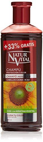 Naturaleza y Vida - Shampoo Colore castano ramato - 300 ml