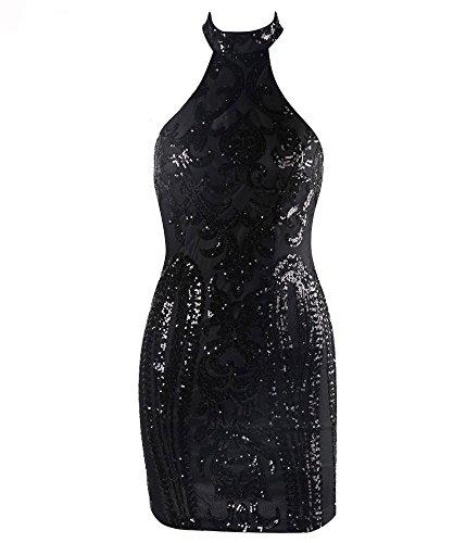 Missord -  Vestito  - Sera  - Senza maniche  - Donna Black