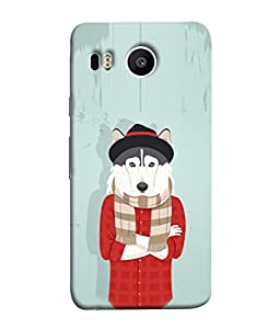 Fuson Designer Back Case Cover for LG Nexus 5X :: LG Google Nexus 5X New (Drawing Young Youngster Cool College Girl Boys)