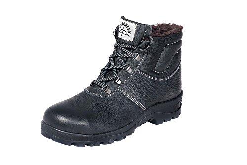 HERKULES Sicherheitsschuh I Winter-Schuhe S3 I Weich Warm Futter I S3 I Gr 36-50, Groesse:39 EU