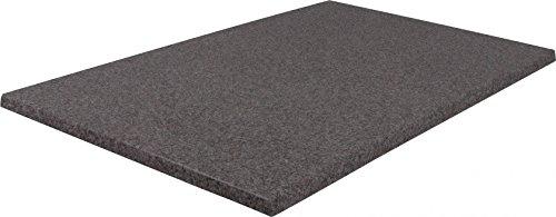 Rechteckige Werzalit-Tischplatten, verschiedene Ausführungen (Puntinella grau 120x80 cm) - Rotbraun Walnuss