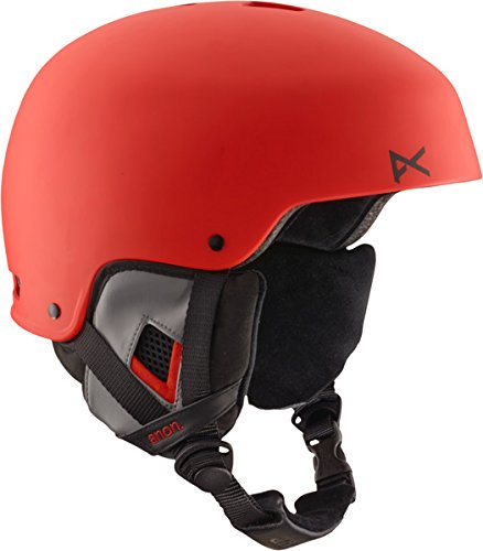 Anon Herren Snowboardhelm Striker, ruby red EU, S (55-57cm), 13309101645