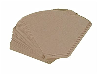 Pack of 120 Unbleached Coffee Filter Papers Size 102 suitable for coffee machines and coffee cones