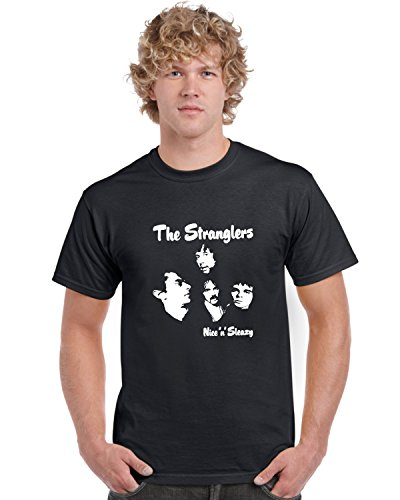 The Stranglers - Nice n Sleazy Black T Shirt, S ro 3XL