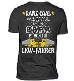 Mein Papa ist LKW-Fahrer· Geschenkidee für Kinder von Fahrern/innen · Lastwagen Motiv/Spruch Herren Organic Shirt