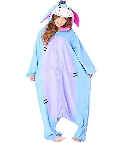 I-Ah Kostüm / Kigurumi Onesie - Pooh Pyjama Kostüm