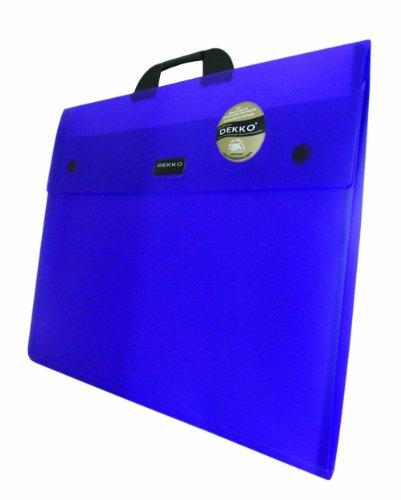 West Design DKTGA2PU Westfolio - Sammelmappe mit großer Seitenfalte, DIN A2, Typ G, lila