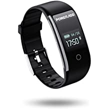 POWERADD Pulsera Inteligente de Reloj Deportivo Inteligente con Recordatorio de Llamada,Mensaje,Sentatorio etc