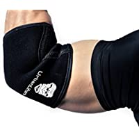 Urban Lifters Elbow Sleeves (Pair) - Excellent Support, warmth, compression, injury prevention and performance enhancement for Pressing, WOD's, Crossfit, WeightLifting, Powerlifting & Gym Goers. Suitable for Men & Woman.
