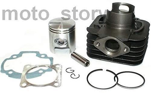 Unbranded 70cc Modifica D.47 Cilindro Gruppo Termico Set Kit per Yamaha NEOS MINARELLI 50