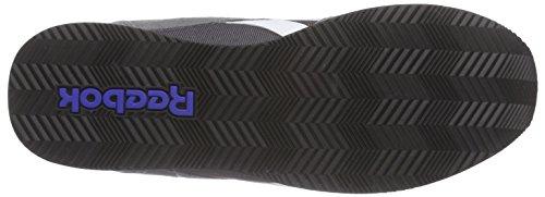 Reebok Royal Classic Jogger 2RS, Chaussures de Course Homme Grau (Shark/Ash Grey/White/Motor Red/Black)