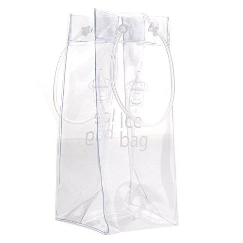WINOMO Sacchetto di ghiaccio refrigeratore del vino più fresco con la maniglia per bevande vino (Ice Cooler Bag)