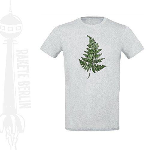 Herren T-Shirt 'Farnwedel' Baumwolle