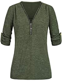 40-48 Damen T-Shirt Shirt Oberteil Top Sommer  Bluse  Steinchen Print gelb Gr