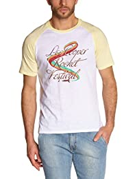 Lee Cooper - Camiseta con cuello redondo de manga corta para hombre