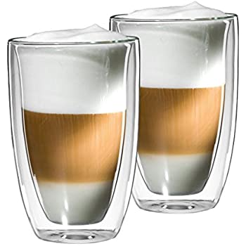mohnblume 2er set latte macchiato glas 350ml sonder edition doppelwandig thermoglas mit. Black Bedroom Furniture Sets. Home Design Ideas