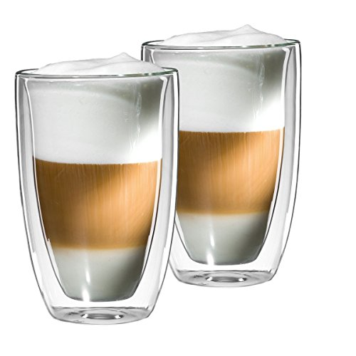 preisvergleich mohnblume 2er set latte macchiato glas 350ml sonder willbilliger. Black Bedroom Furniture Sets. Home Design Ideas