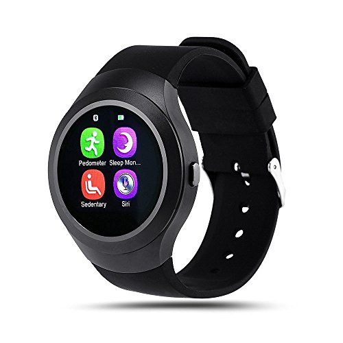 Micromax Canvas Fire 4 A107 COMPATIBLE ZTE V8+ Bluetooth Smartwatch With Sim & Tf Card Support With Apps Like Facebook And Whatsapp Touch Screen Multilanguage Android/Ios Mobile Phone Wrist Watch Phone With Activity Tracker And Fitness Band By VELL- TECH  available at amazon for Rs.1999