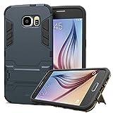 WLDDWL Coque Galaxy S6,Antichoc Mince Légère TPU PC Housse de Protection Anti...