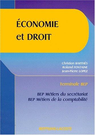 Economie et droit - 2nde