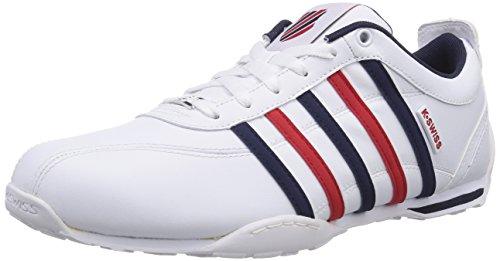 K-Swiss Arvee 1.5, Herren Sneakers, Weiß (White/Corporate 113), 42.5 EU (8.5 Herren UK)