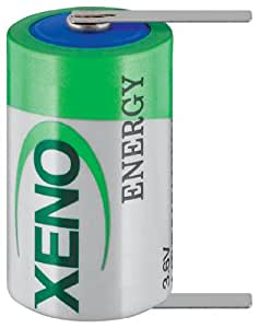 Xeno XL-050T11/2AA Lithium Battery 3.6V/1200mAh (German Import)