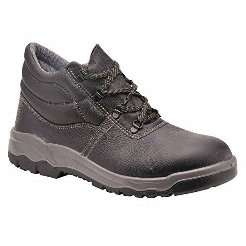 SUW–Steelite Kumo Workwear Knöchel Sicherheitsstiefel S3, EU 41 - UK 7, schwarz, 1 schwarz