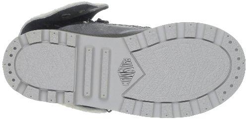 Palladium Baggy Leather K, Boots mixte enfant Gris (791 Gray Pilot)