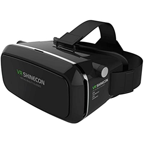 Koly VR caja de realidad virtual 3D juego de la película gafas de cartón para Samsung para el
