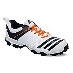adidas Mens 22 Yds Trainer16 White, Ntnavy and Uniora Cricket Shoes - 8 UK/India (42 EU)
