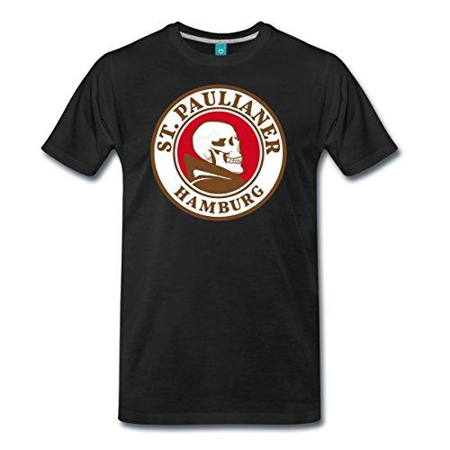 st-paulianer-totenkopf-mnch-mnner-premium-t-shirt-von-spreadshirt-l-schwarz