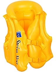 La Vogue Gilet De Natation Sauvetage Gonflable Nautique Flottaison Enfant Jeu De Plage Piscine S