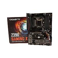 لوحة ام جيمينج اكس Z390 للالعاب من جيجابايت (معالج انتل LGA1151/Z390/ايه تي اكس/2xM.2/ ريلتيك ALC892/ شبكة محلية انتل/ اتش دي ام اي/ لوحة ام للالعاب)