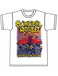 Municipal Waste - Hazardous Mutation White T-shirt
