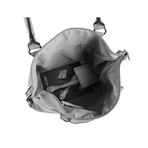 OBC DAMEN MILITARY TASCHE Shopper Camouflage Patches Handtasche Canvas Schultertasche Umhängetasche Army Damentasche Sticker Reisetasche Beuteltasche DIN-A4 Army-Grün Grün