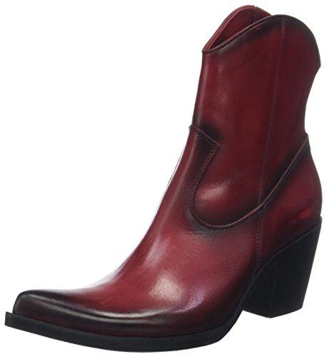 Donna Piu Damen Enea Cowboystiefel, Rot (Rosso 007), 38 EU