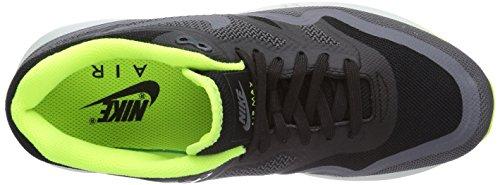 Nike Air Max Lunar1, Chaussures de running femme Noir (Black/Dark Grey-Volt-Pr Pltnm)