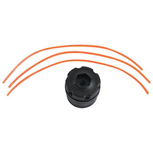 Universal Wasserhahn und Ersatz Trimmer Kopf + Trimmer Line Festplatten für Gas Trimmer. Passend für Ryobi, Homelite & mehr - Gas Line Trimmer