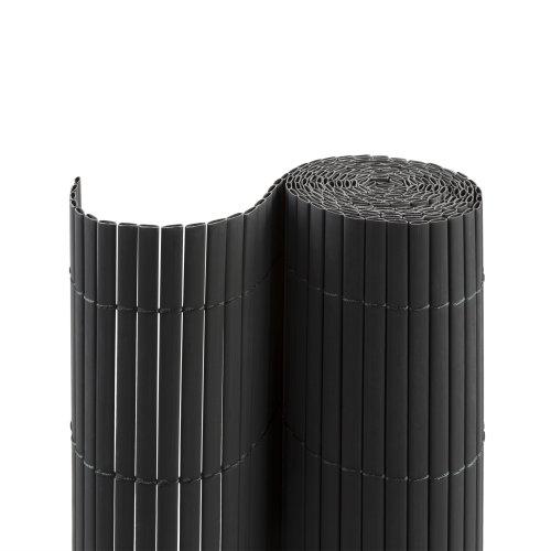 Jarolift Canisse en PVC pour Jardin, Balcon et terrasse, 200 x 300 cm, Gris Semblable à RAL 7016