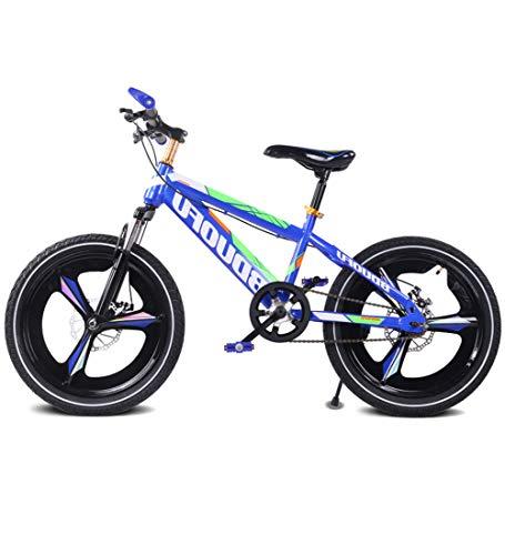 SJSF Y Mountainbikes, 16 Zoll, 18 Zoll, 20 Zoll Kinder Fahrrad Jungen Mädchen Outdoor Reiten Kinderspielzeug Einstellbare Höhe Doppelbremse Rutschfeste Sicherheit,18inch