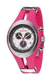 Pirelli - R7971600045 - Montre Homme - Quartz - Chronographe - Bracelet Caoutchouc Rose