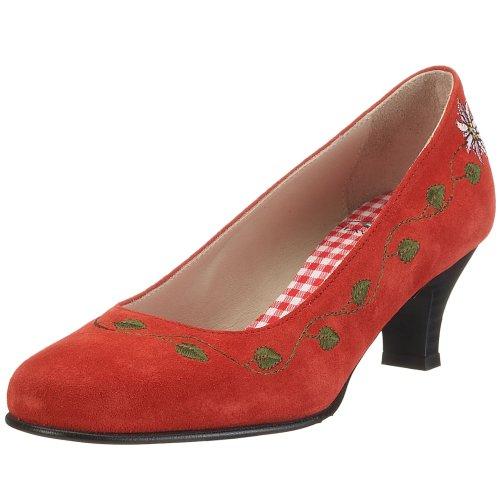 Diavolezza - Scarpe con Tacco, Donna Rosso (Rot)