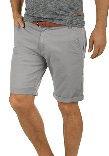 2c7cf754207948 Solid Montijo Chino Shorts Bermuda Kurze Hose Mit Gürtel Aus Stretch- Material Regular Fit