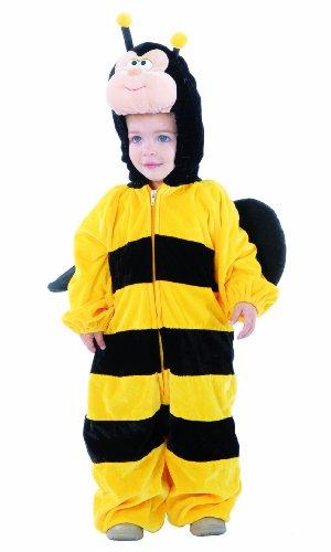 Guirca-81011 maia costume da ape bambino, giallo e nero, 1/12 mesi, 9.25222e+12