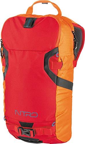 Nitro Snowboards Erwachsene ROVER Rucksack, Orange (Vulcan), 48 centimeters - Backcountry-ski-rucksäcke