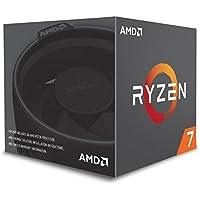 AMD Ryzen 7 2700 Retail Wraith Spire LED - (AM4/Octa Core/3.20GHz/20MB/65W) - YD2700BBAFBOX
