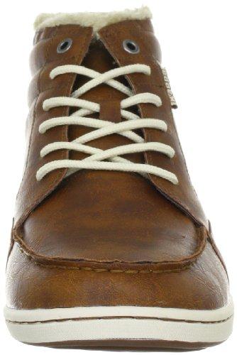 Kappa JAY Footwear Synthetic Herren Hohe Sneakers Mehrfarbig (5443 COGNAC/OFFWHITE)