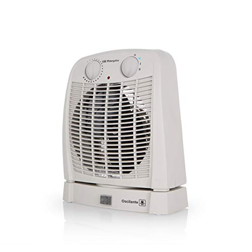Orbegozo FH 7001 - Calefactor baño con movimiento oscilante, 2 niveles de...