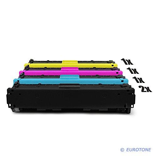 5x Eurotone Remanufactured Toner für HP LaserJet Pro CM 1411 1412 1413...