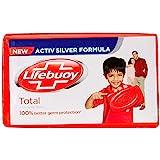 Lifebuoy Bath Soap - Total 10, 4Nx125g Pack